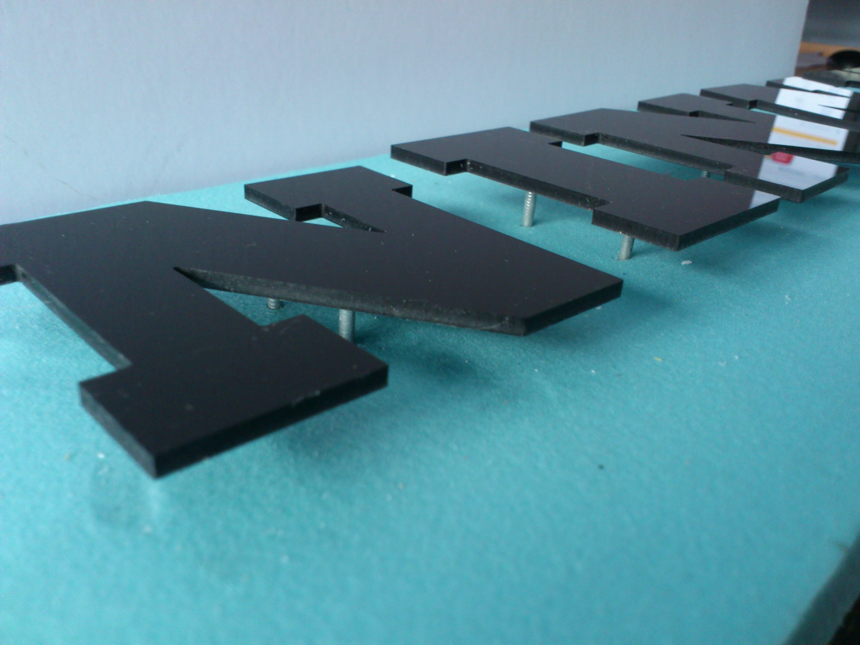 Acrylic CNC Letters