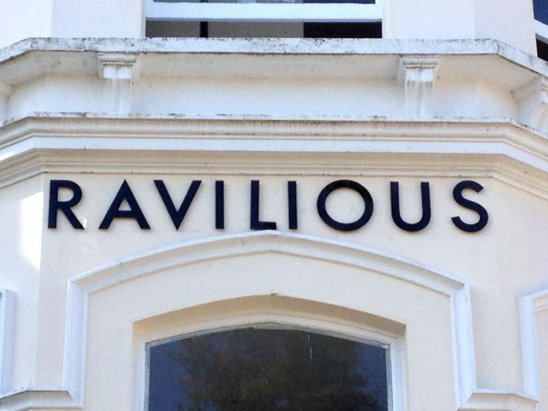 hotel lettering